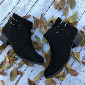 Unisa Black Ankle Fall Booties